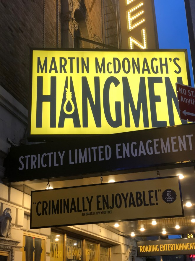 Hangmen at The Golden