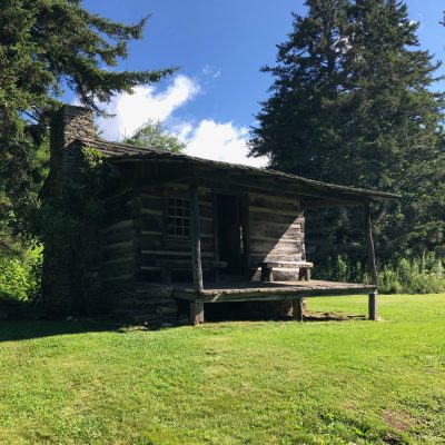 Ferguson Cabin in the Great Smoky Mountains National Park