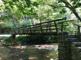 Final Foot Bridge over Cataloochee Creek