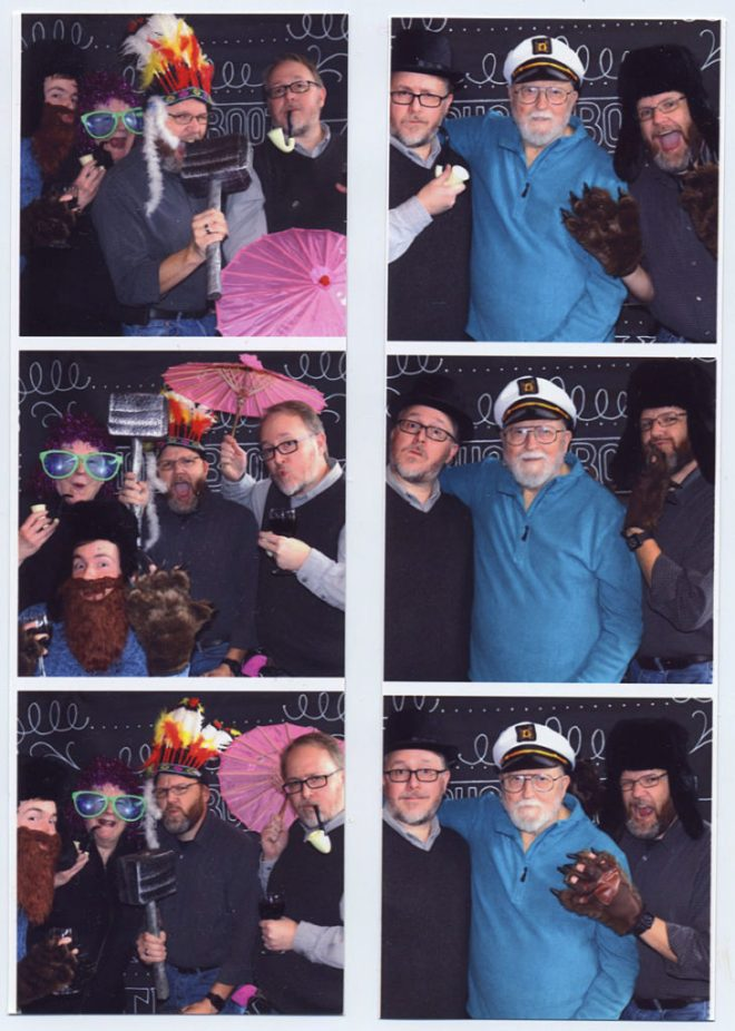 Highsmith 60th Photo Booth