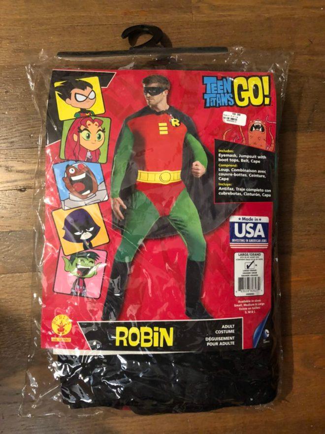 Robin Costume