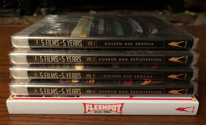 5 Films 5 Years Volume 1-4 and Fleshpot on 42nd Street