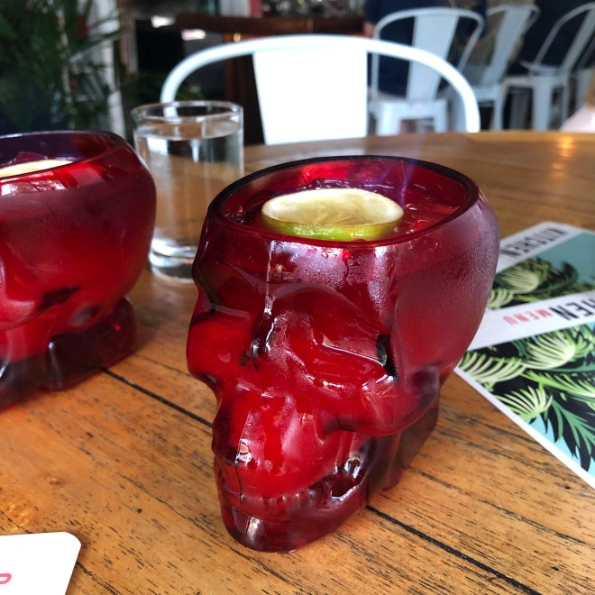 Zombie Drinks at Cane Rhum Bar