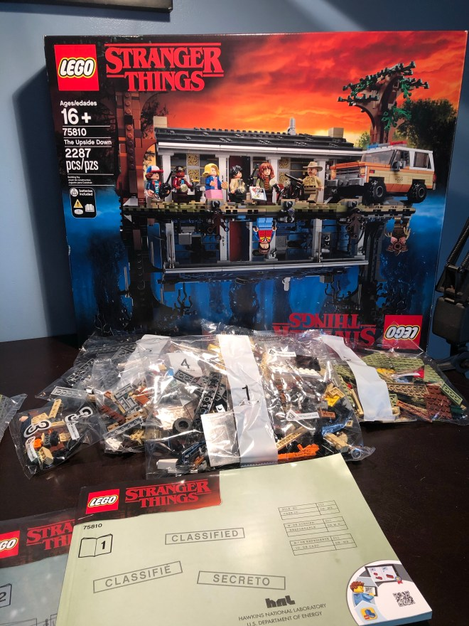 Lego Stanger Things The Upside Down