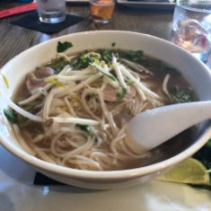 Pho with Rare Beef at CO
