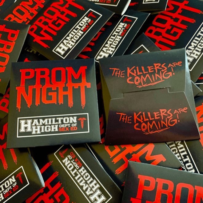 Prom Night Condoms
