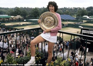 Virginia Wade Wimbledon