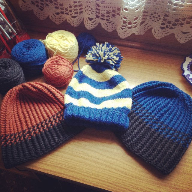 Three Little Hats for Three Little Chaps