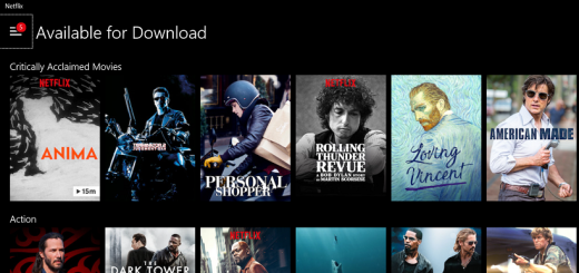 find out how to download netflix movies for offline playback