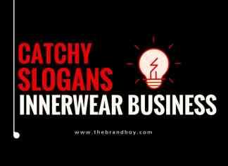 inner wear business slogans