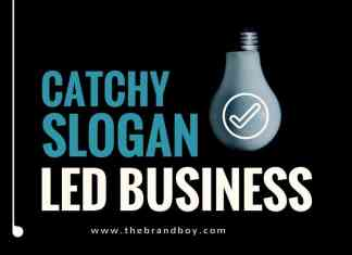 slogan idea led business