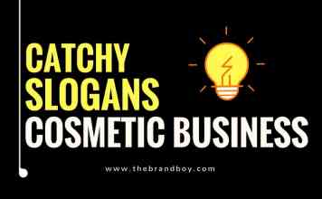 cosmetic business slogans