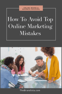 How To Avoid Top Online Marketing Mistakes