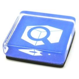 Custom Made Glass Magnets