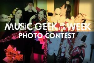 Music Geek Photo Contest
