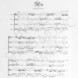 Bach Air from Suite No. 3 Sheet Music 1