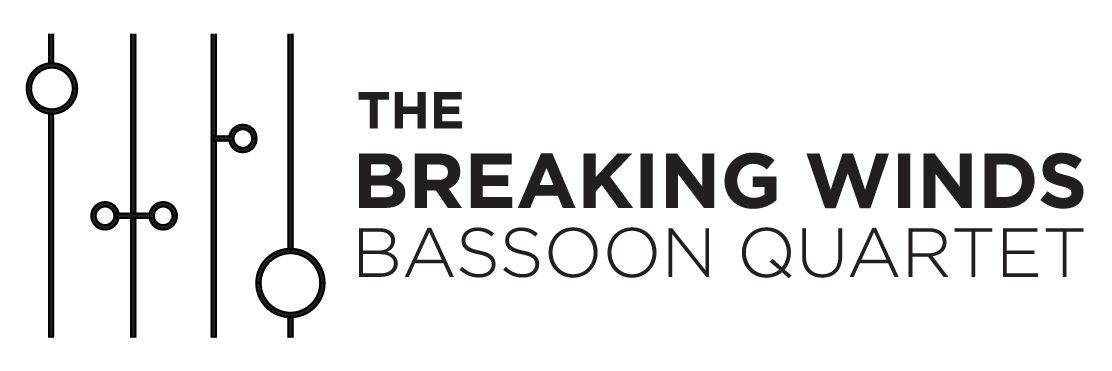 The Breaking Winds Bassoon Quartet Logo