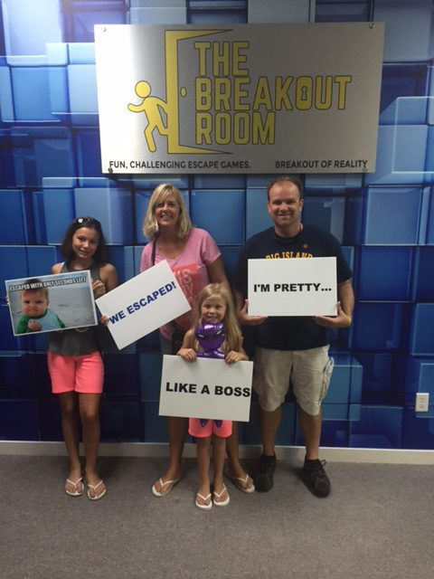 Escaped the Kidnapped Escape room in Downtown wilmington nc