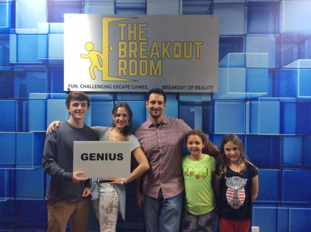 The Breakout Room Escape game room in wilmington north carolina