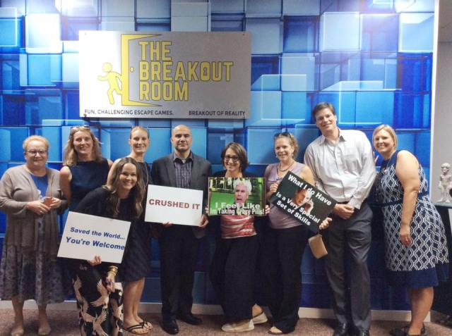 best corporate team building escape room wilmington nc