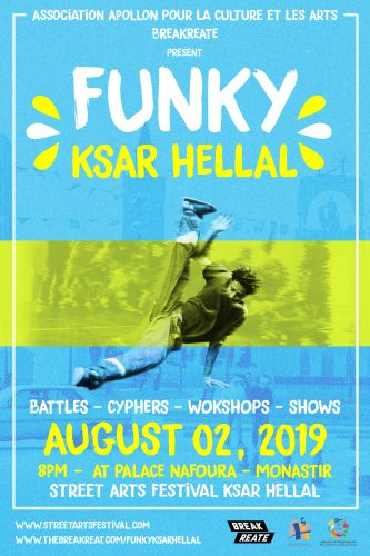 Project- Funky Ksar Hlel FLYER