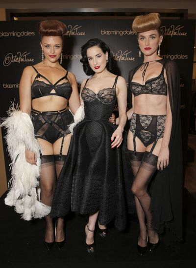794f1d70e31 Dita Von Teese Lingerie At Bloomingdale s