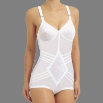 Rago Shapette Body Briefer with Contour Bands