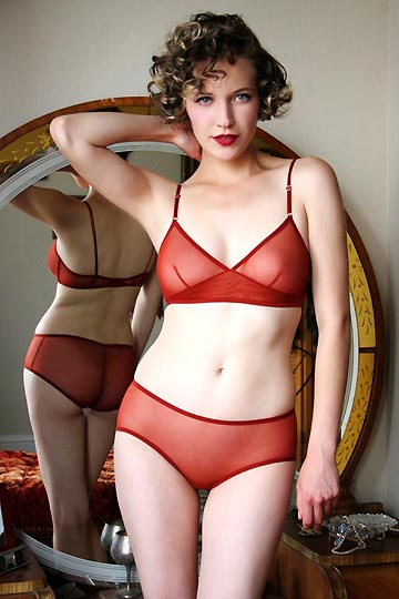 Dollhouse Bettie Mesh Bralette