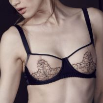 Fleur of England Desire Silk Bra