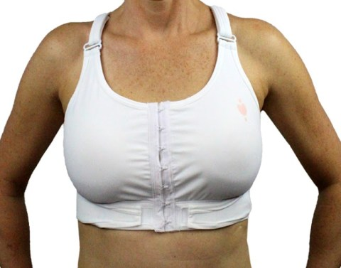 post-surgical bras