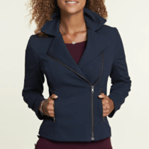 Pepperberry Ponte Biker Jacket