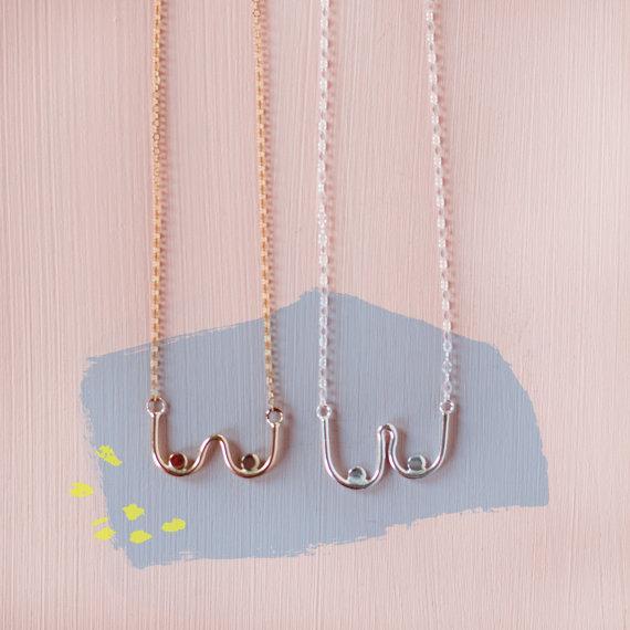 boob jewelry