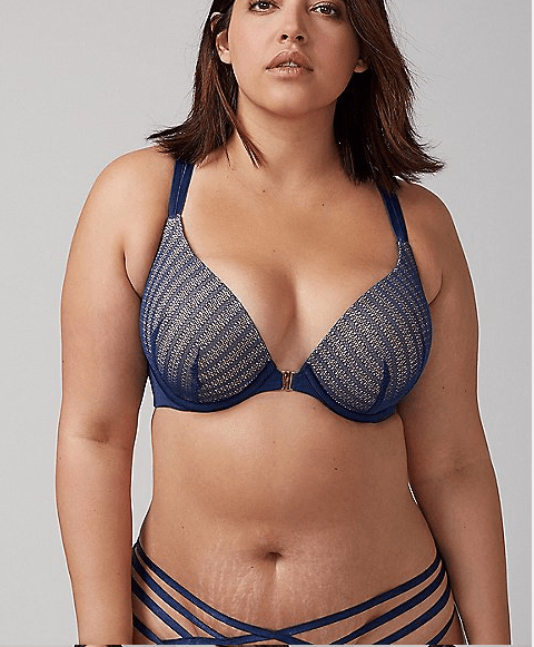 small cup large band bras