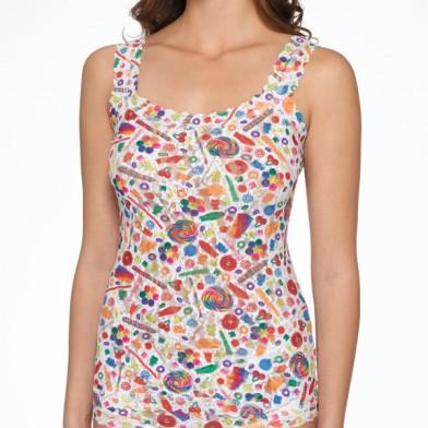 novelty print lingerie