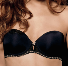 B.Tempt'd By Wacoal Faithfully Yours Strapless Push Up Bra