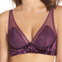 Honeydew Intimates Underwire Triangle Bra