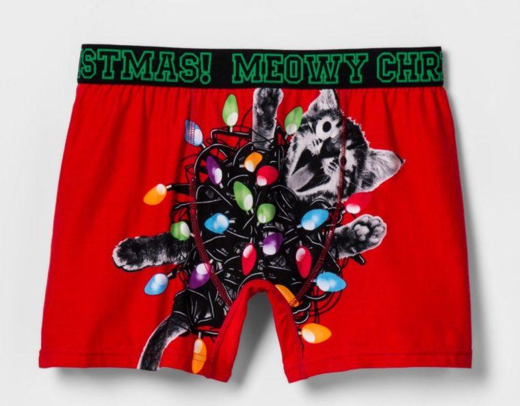men's Holiday underwear