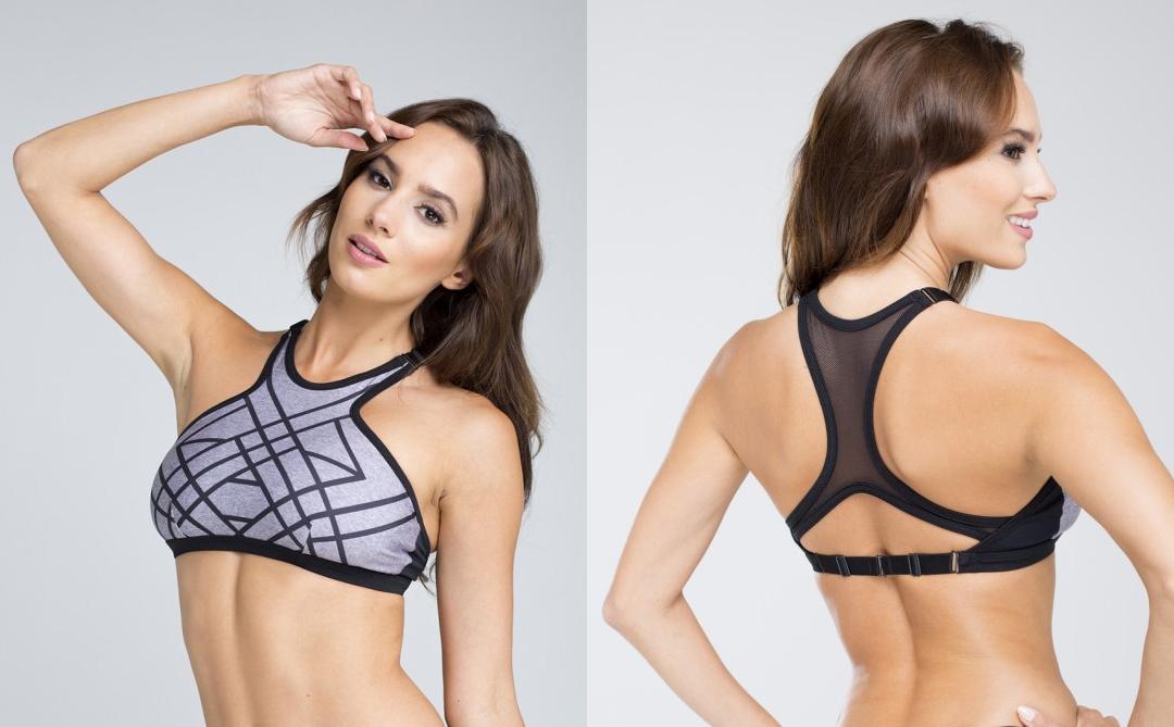 chic sports bras
