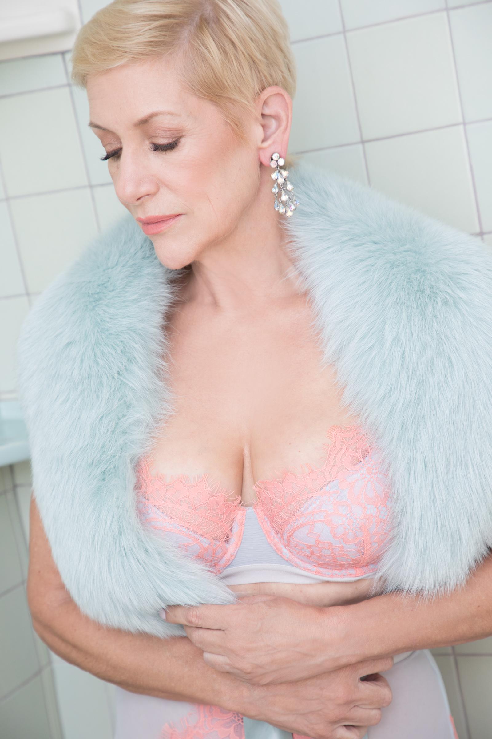 lingerie photoshoot