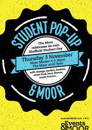 Moor Student Pop Up event