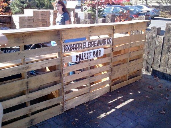 10 Barrel pallet bar