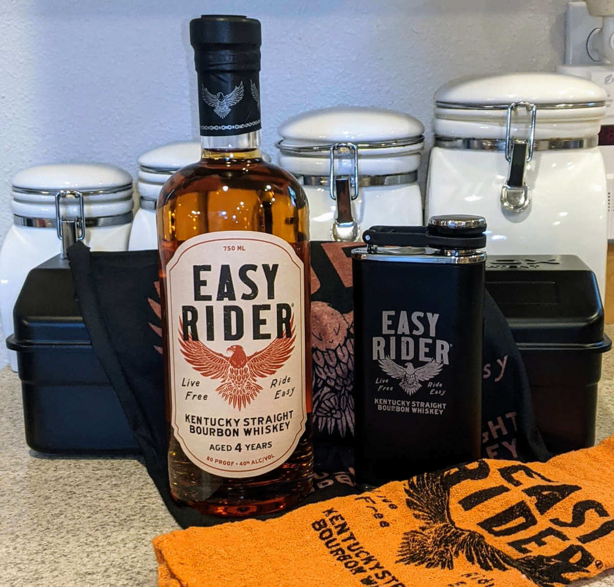 Received: Whiskey! Easy Rider Kentucky Straight Bourbon Whiskey from Hood River Distillers – The Brew Site