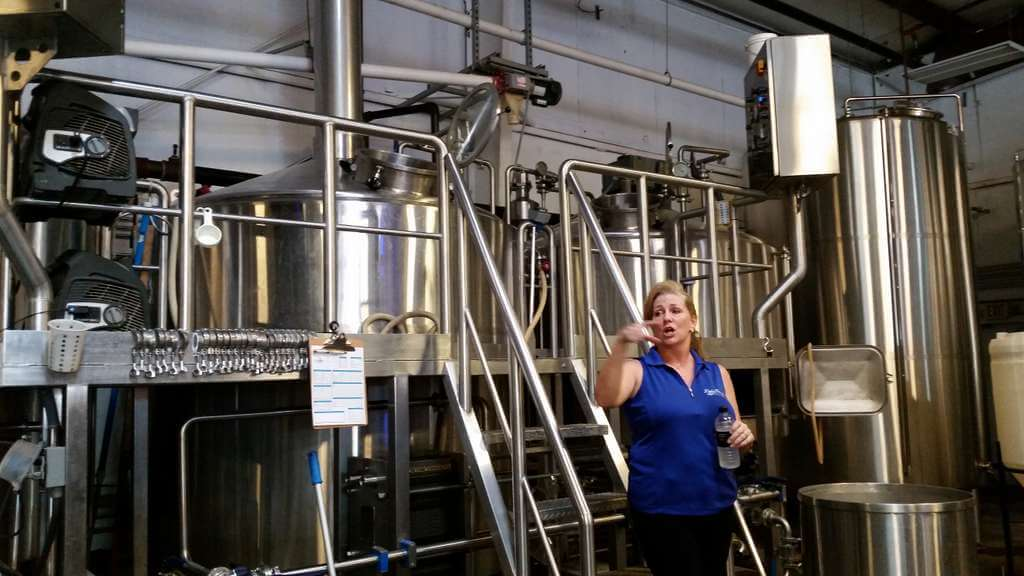 Brewery Tour at 3 Daughters Brewing