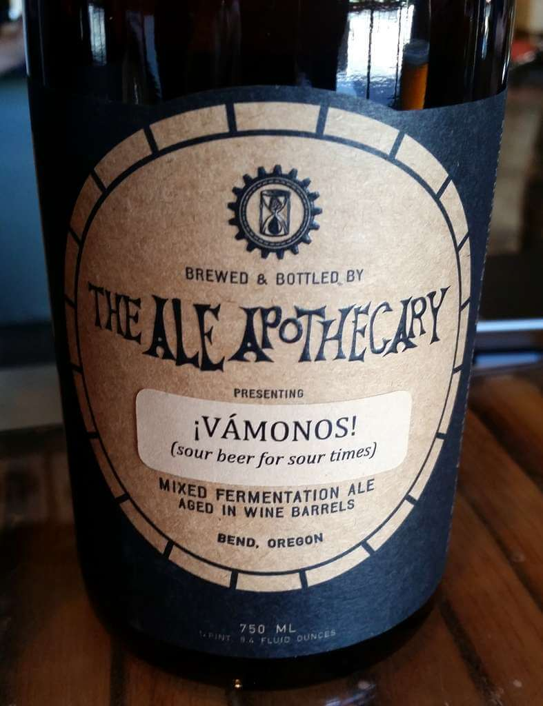 The Ale Apothecary tasting room - Vamanos