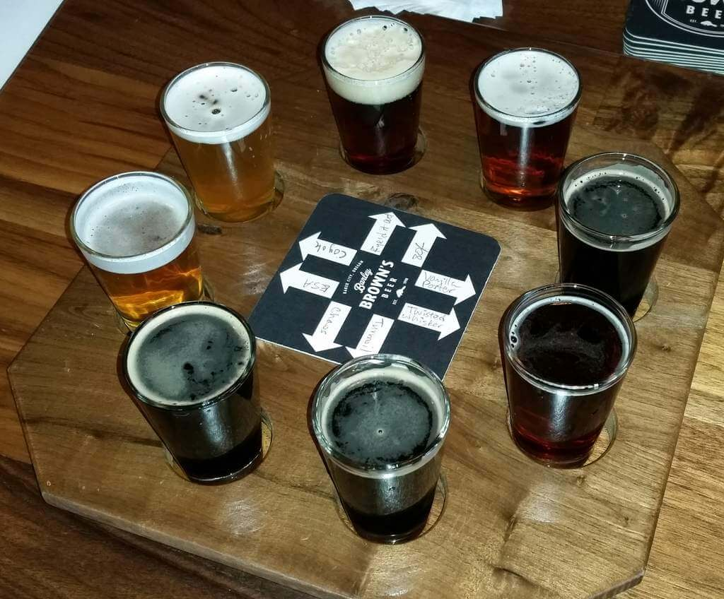 Barley Brown's sampler