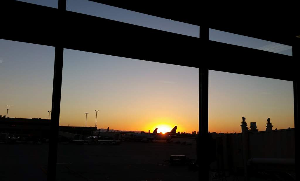 BBC 16: Phoenix airport sunset