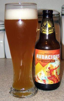 Pyramid Audacious Apricot Ale