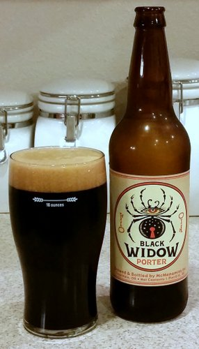 McMenamins Black Widow Porter (Halloween seasonal)