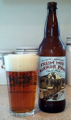 Deschutes Fresh Hop Mirror Pond Pale Ale