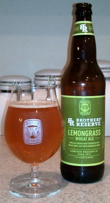 Widmer Lemongrass Wheat Ale